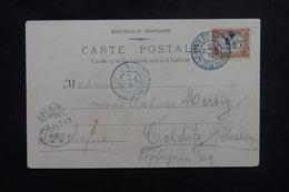CÔTE DES SOMALIS - Affranchissement De Djibouti Sur Carte Postale Pour L 'Allemagne En 1904 - L 50627 - Côte Française Des Somalis (1894-1967)
