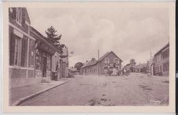 LANDIFAY - Rue Conduisant à L'Eglise Et Rue Conduisant à Origny-Sainte-Benoîte Epicerie Mercerie - Sonstige Gemeinden