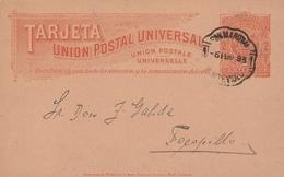 Uruguay Entier Postal 1893 - Uruguay