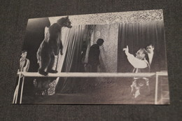 Cirque,photo Avec Autographe,dresseur D'ours,Truszkowskis,Munchen 1979,collection,15 Cm. Sur 10 Cm. - Autografi