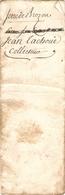 Beau Papier Du Béarn, Lestelle, Impositions De Serre De Brozou, 1782, Taille Et 20e De 14 Forains, Collecteur Tachoué - Historische Documenten