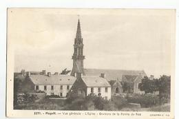 29 Plogoff Vue Generale L'Eglise Environs De La Pointe Du Raz Quimper N°182 - Plogoff