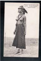 EROTIC Afrique Occidentale - Jeune Foulah, Fortier Ca 1910 -20 Old Postcard - Afrique Du Sud, Est, Ouest