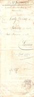 Vieux Papier De Lestelle, 1876, La Veuve Malaganne Poursuit Les Bordenave Et Latanne, Timbres 50 C + Saisie à Montaut - Historische Documenten