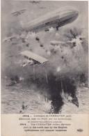 Allemagne : Basse Saxe : CUXHAVEN : L'attaque Par Les Hydravions Du Port Allemand, Mer Du Nord ( Aviation ) édit. E. L.D - War 1914-18