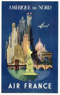 AIR FRANCE - AMERIQUE DU NORD - Pubblicitari