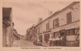 Fontenay-en-Parisis - Rue Ambroise-Jacquin - A La Civette - Café, Tabac, Vins - France