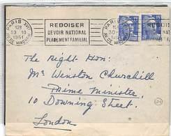 1951.- LETTRE A SIR WINSTON CHURCHILL DU 1ER MINISTRE DANS LES ELECTIONS DE 1951 EN OCTOBRE- 4 JOURS APRES ERE NOMINÉ - Altri