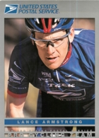 Lance ARMSTRONG . 2 Scans. US Postal - Radsport