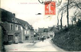 N°1132 T -cpa Yquelon -entrée Du Bourg- - Sonstige Gemeinden