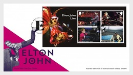 Groot-Brittannië / Great Britain -  Postfris / MNH - FDC Sheet Elton John 2019 - 1952-.... (Elizabeth II)