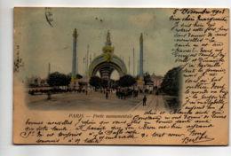 CP33049 - Paris - Porte Monumentale - Voyagée - France