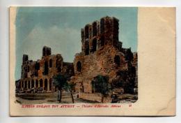 CP33077 - Athènes - Théâtre D'Hérodes Atticus - Neuve - Grèce