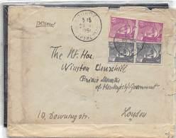 1951.- LETTRE A SIR WINSTON CHURCHILL DU 1ER MINISTRE DANS LES ELECTIONS DE 1951 EN OCTOBRE- 3 JOURS APRES ERE NOMINÉ - Altri