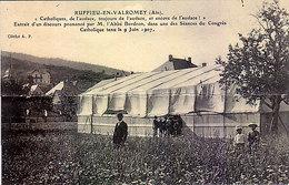 """01 - RUFFIEU-en-VALROMEY - """" Catholiques, De L'audace - Non Classés"""