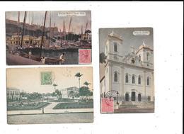 11357 - Lot De 3 CPA De BAHIA, BRESIL - Salvador De Bahia