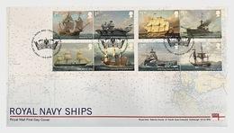 Groot-Brittannië / Great Britain -  Postfris / MNH - FDC Koninklijke Marineschepen 2019 - 1952-.... (Elizabeth II)