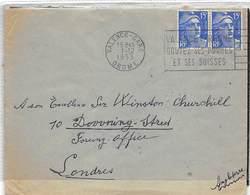 1953.- LETTRE A SIR WINSTON CHURCHILL DU 1ER MINISTRE DANS LES ELECTIONS DE 1951 EN OCTOBRE- - Altri