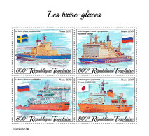 Togo. 2019 Icebreakers. (0527a)  OFFICIAL ISSUE - Ships