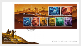 Groot-Brittannië / Great Britain -  Postfris / MNH - FDC Sheet Kerstmis 2019 - 1952-.... (Elizabeth II)