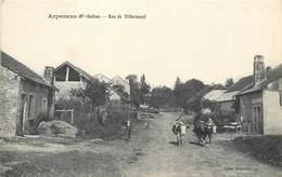 CPA 70 Haute Saône Arpenans Rue De Villersexel - Non Voyagée - Francia