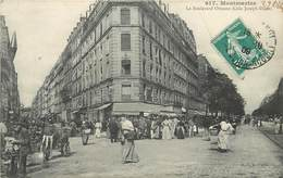 PARIS -Montmartre, Le Boulevard Ornano (coin Joseph-Dijon) - Distretto: 18