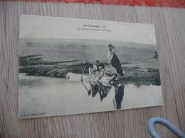 CPA 07 Ardèche La Louvesc Un Groupe De Laveuses Sur L'étang - La Louvesc