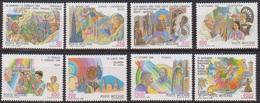 Vatikan 1987 Mi-Nr.926 - 933 ** Postfr. Weltreisen Von Papst Johannes Paul II.( 806 )günstige Versandkosten - Vatican