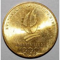 ALBERTVILLE 92 - XVIEME JEUX OLYMPIQUES D'HIVER - SAINT MORITZ 1928 ET 1948 - SUPERBE - - France