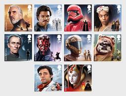 Groot-Brittannië / Great Britain -  Postfris / MNH - Complete Set Star Wars 2019 - 1952-.... (Elizabeth II)