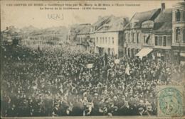62  LENS / Les Grèves  Conférence Faite Par M. Basly Le 25 Mars à L'école Condorcet / - Lens