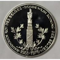BELGIQUE - MÉDAILLE - BAUDOUIN 1er - 25 ANS DE RÈGNE - 1951 - 1976 - BE - France