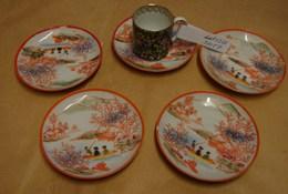 Lot. 1226. Petite Tasse Chinoise à Thé + 5 Sous Tasses - Aziatische Kunst