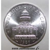 GADOURY 898 - 100 FRANCS 1986 - TYPE PANTHEON - KM 951.1 - SPL - France