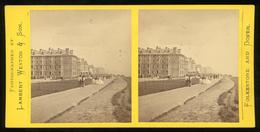 Stereoview - The Lees, Folkestone, Kent - Stereoscopi
