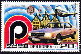 Korea Nord/north - Briefmarkenmesse Philatelia '81, Frankfurt (MiNr: 2182) 1981 - Gest Used Obl - Corea Del Nord