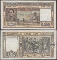 Belgique - Billet 100Fr - 05.05.49 -Beau (VG) DC-5471 - [ 2] 1831-... : Royaume De Belgique