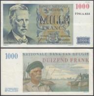 Belgique - Billet 1000Fr - 06.05.58 -Beau Mais Plié Au Millieu (VG) DC-5472 - [ 2] 1831-... : Belgian Kingdom