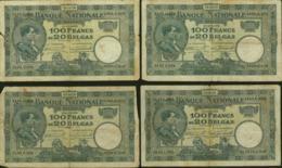 Belgique - Lot De 20 Billets 100Fr  (VG) DC-5484 - [ 2] 1831-...: Belg. Königreich