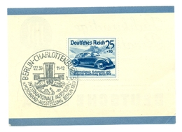 Deutschland - Internationale Automobil- Und Motorrad-Ausstellung Berlin - 1939 - Duitsland