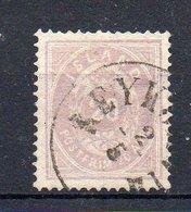 ISLANDE : N° 10 . OBL . TB . SIGNE CALVES . 1876 . ( CATALOGUE YVERT ) . - 1873-1918 Danish Dependence