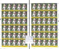 NN - NB - [99781]TB//**/Mnh-NN - RD Congo 2001 - N° 2092 (COB)/1523 (YV), Tintin Au Congo, Les 2 Planches Complètes, Coi - République Démocratique Du Congo (1997 -...)