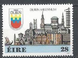 Irlande 1988 N°645 Neuf ** Millénaire De Dublin - 1949-... Republic Of Ireland