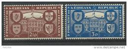 Irlande 1949 N°110/111 Neufs** MNH Proclamation De La République - Nuevos