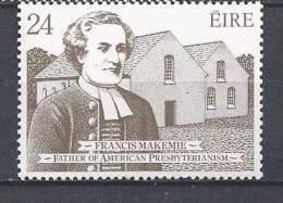 Irlande 1982 N°470 Neuf** Francis Makemie - 1949-... Republic Of Ireland