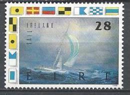 Irlande 1989 N°692 Neuf ** Sport: Voile - 1949-... Republic Of Ireland