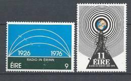 Irlande 1976 Série N°353/354 Neuve** Radiodiffusion Irlandaise - 1949-... Republic Of Ireland