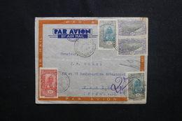 CÔTE DES SOMALIS - Enveloppe De Djibouti Pour Paris En 1939 , Affranchissement Plaisant - L 50649 - Côte Française Des Somalis (1894-1967)