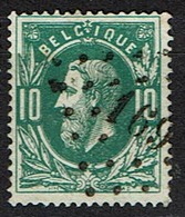 30  Obl  LP 169  Harlebeke  + 8 - 1869-1883 Léopold II