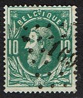 30  Obl  LP 169  Harlebeke  + 8 - 1869-1883 Leopold II.
